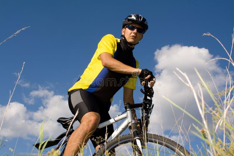 Biking στοκ φωτογραφία