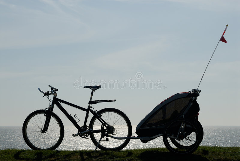 Biking foto de stock