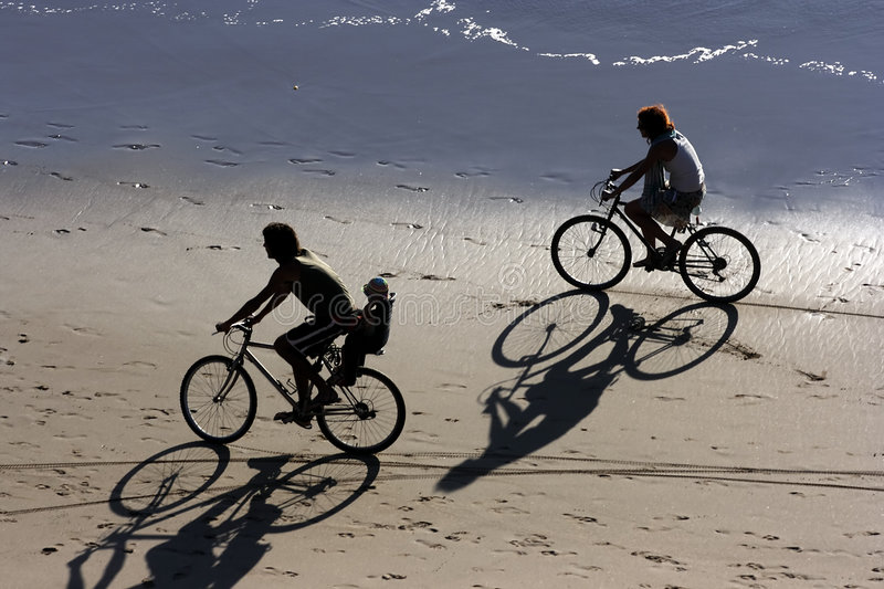 Download Biking at the beach stock photo. Image of cycling, active - 3239430