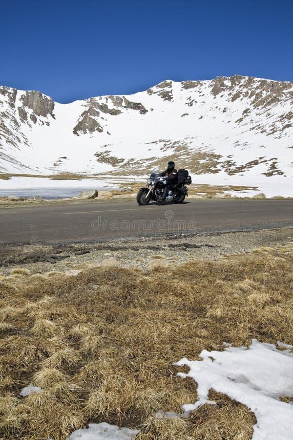 Biking in Colorado royalty free stock photo