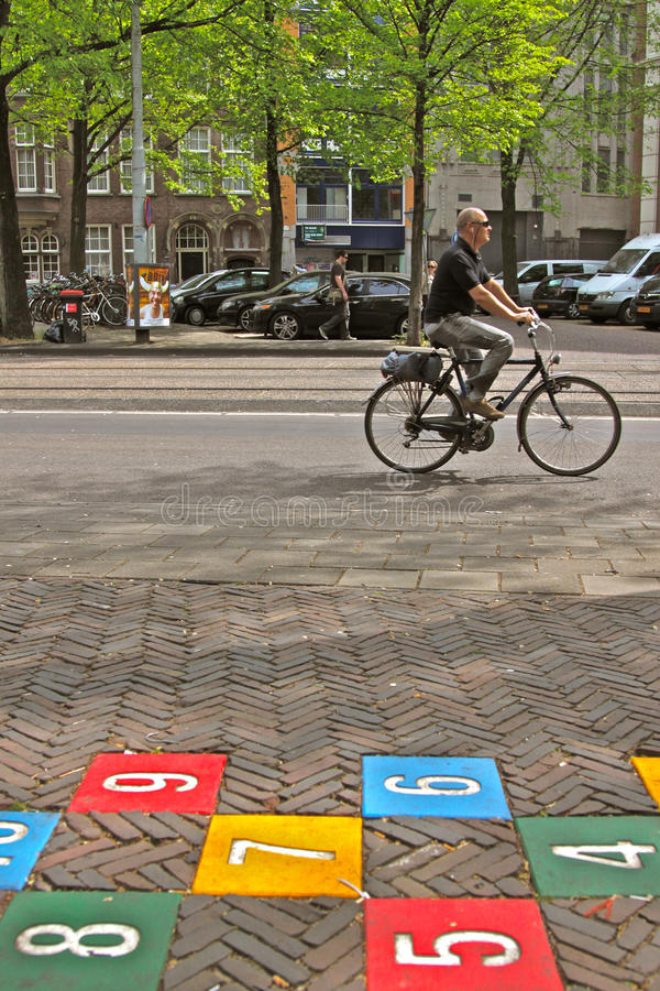 Free Biking In The City Royalty Free Stock Image - 20384506