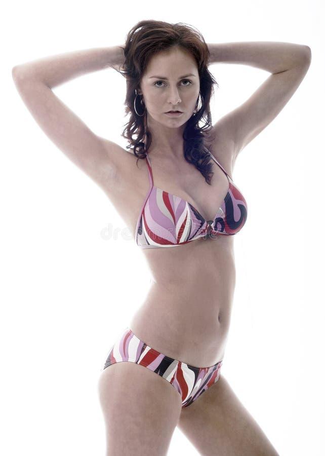 bikini γυναίκα στοκ φωτογραφίες με δικαίωμα ελεύθερης χρήσης