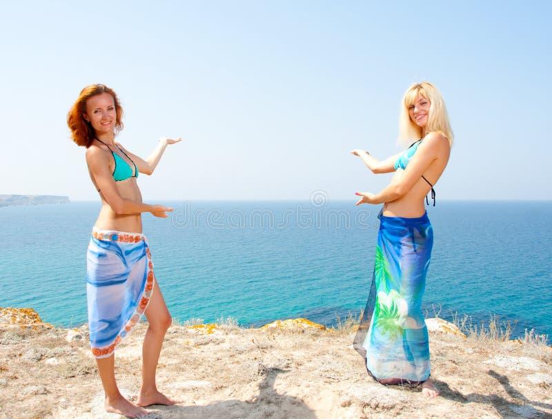 bikini θάλασσα πρόσκλησης σε &de στοκ φωτογραφίες με δικαίωμα ελεύθερης χρήσης