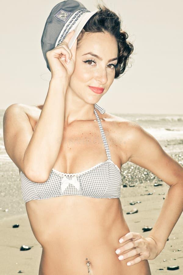 bikini πρότυπος τρύγος στοκ εικόνες με δικαίωμα ελεύθερης χρήσης