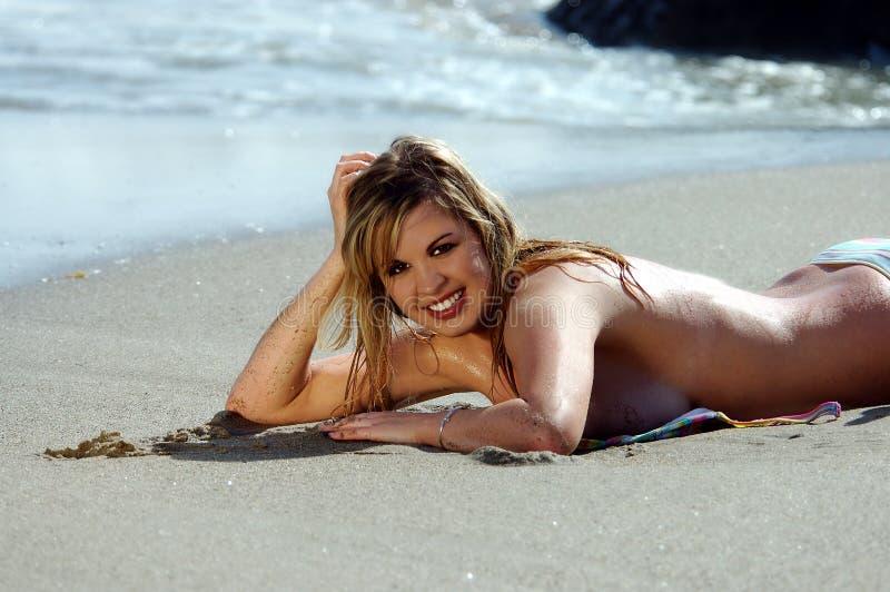 Bikini Di Cassie Immagini Stock