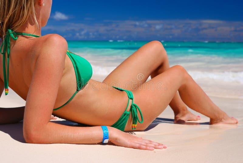 bikini dziewczyna zdjęcia stock