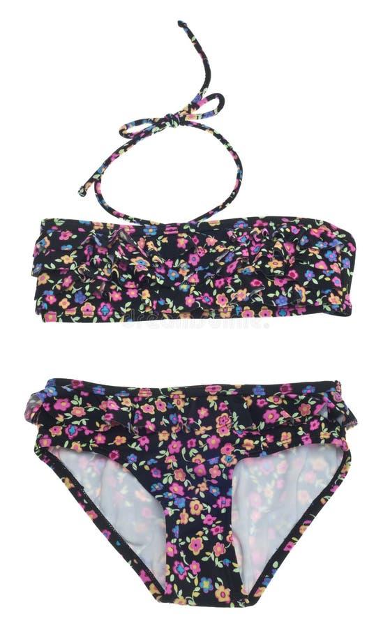 Bikini floral d'été images stock