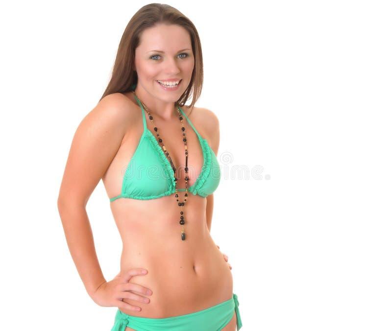 Bikini Girl stock images