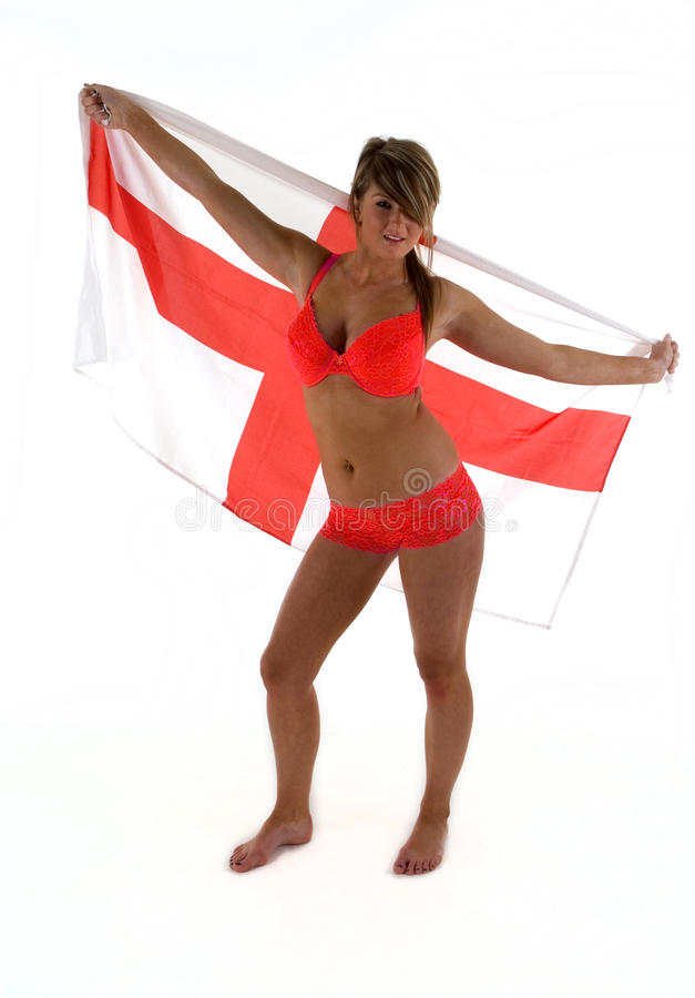England flag bikini for girls