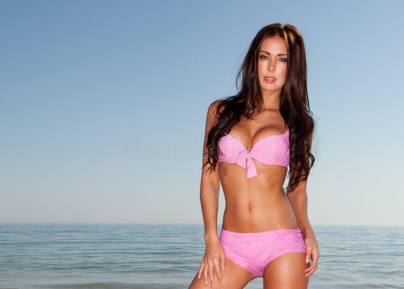 bikini kobieta zdjęcie stock