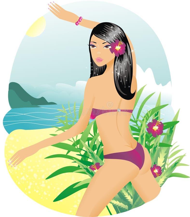 bikini kobieta obraz stock