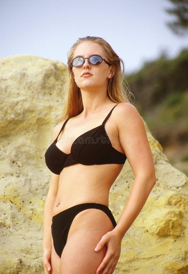 Bikini noir photos stock