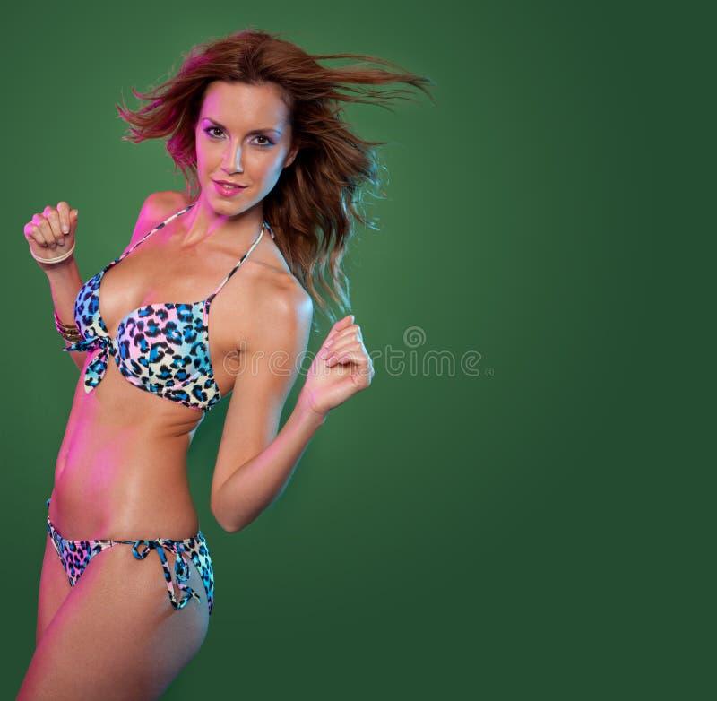 Bikini woman royalty free stock photos