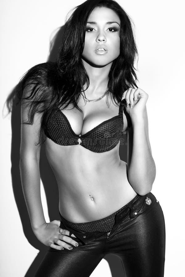 bikinimodemodell royaltyfri fotografi