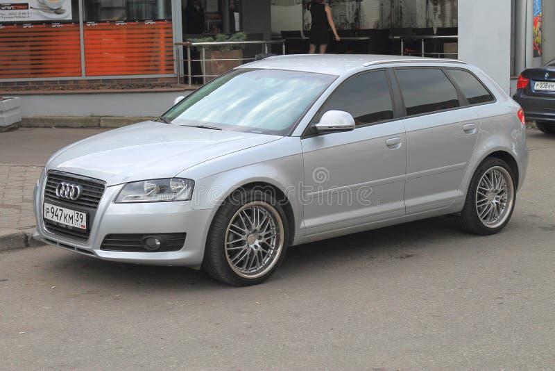 Bil Audi A4 Avant royaltyfria foton