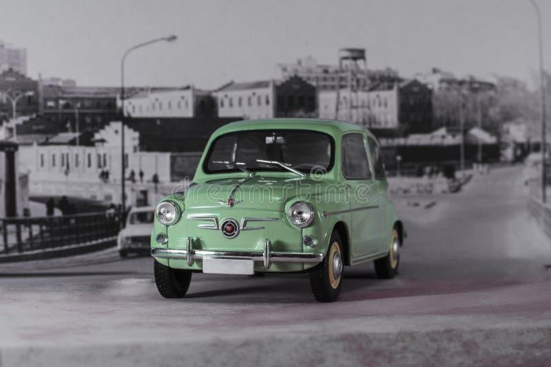 Bil av 60-talspanjoren royaltyfria bilder