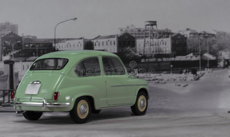 Bil av 60-talspanjoren royaltyfri bild