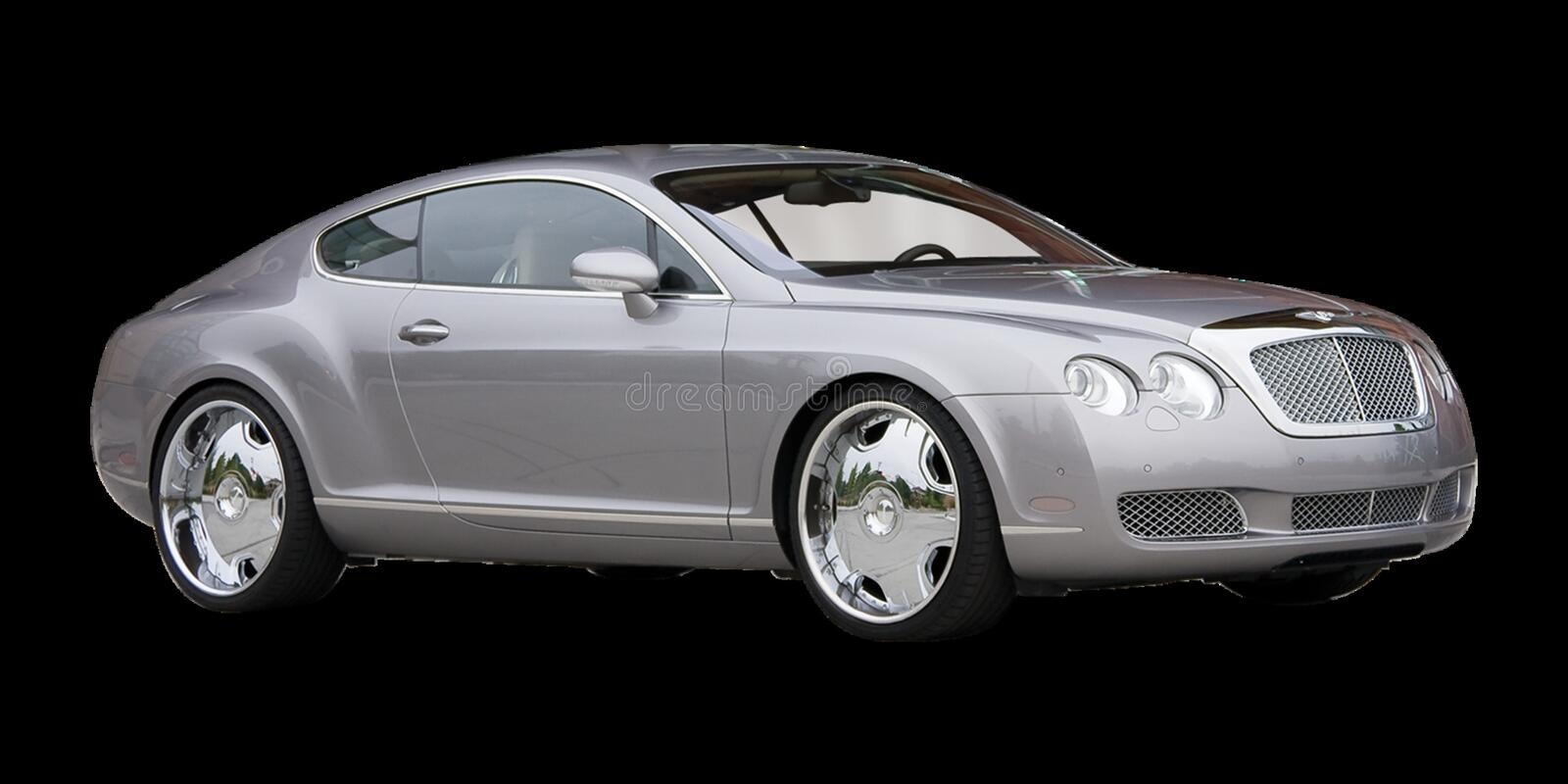 Bil Bentley Continental Gt, motorfordon, landmedel royaltyfria bilder