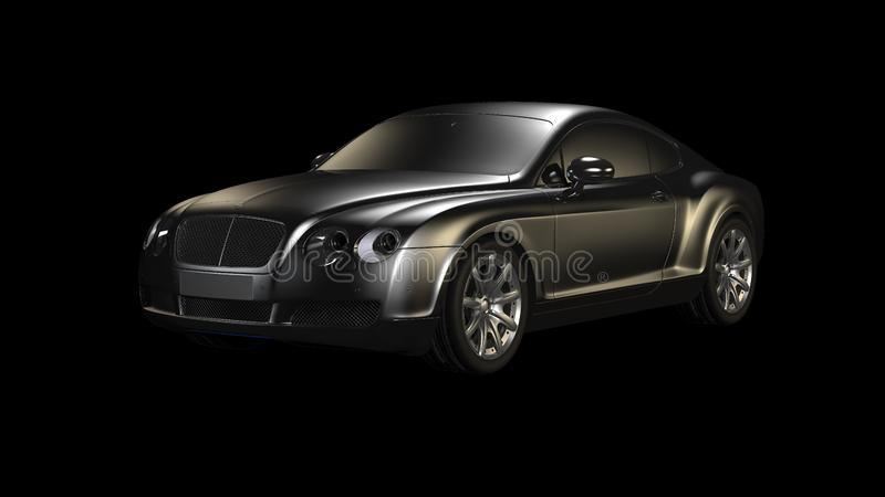 Bil Bentley Continental Gt, motorfordon, medel royaltyfri bild