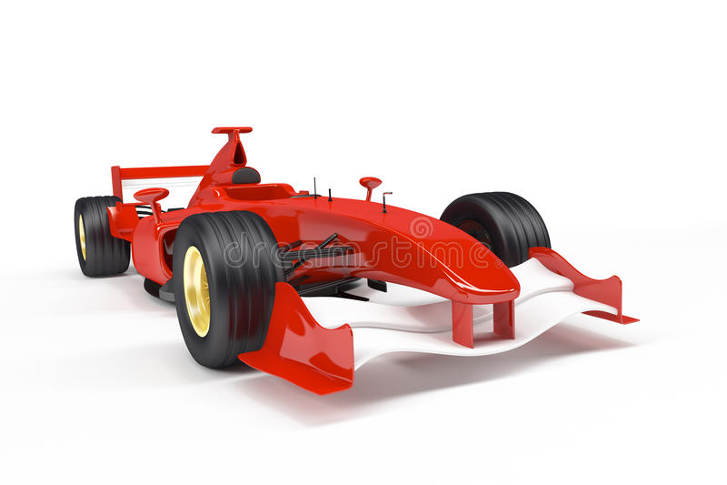 Bil för formel 1 vektor illustrationer