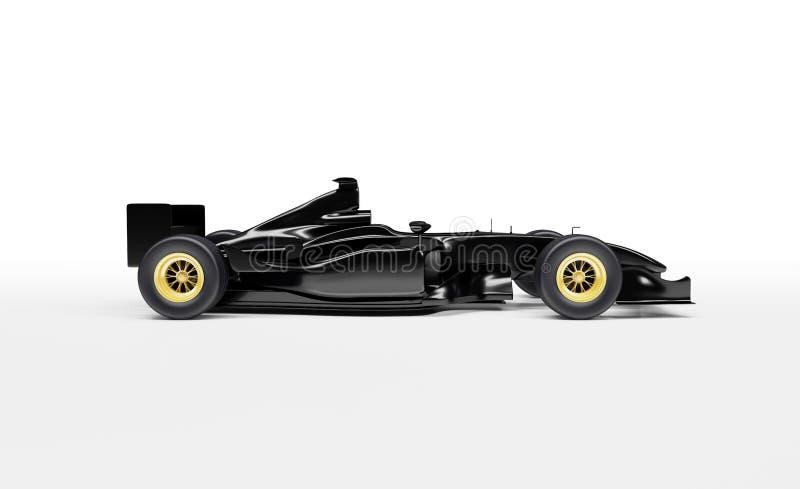 Bil för formel 1 royaltyfri illustrationer