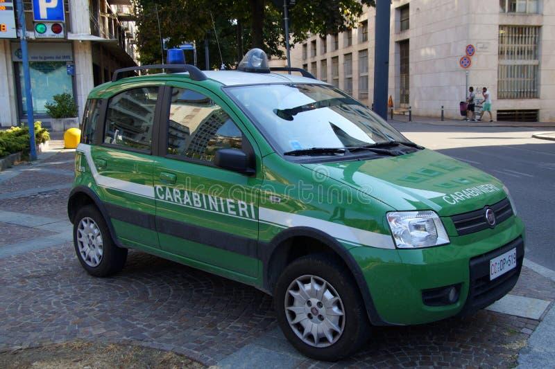 Bil för italienareCarabinieri militär royaltyfri fotografi
