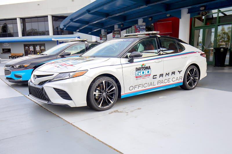 Bil för representantDaytona 500 hastighet arkivbilder