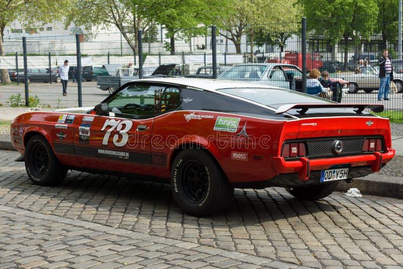 Bil Ford Mustang Mach 1 fotografering för bildbyråer