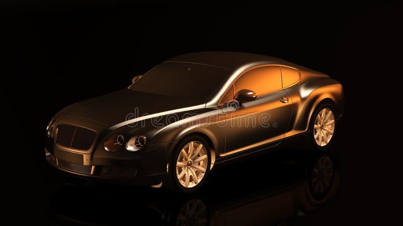 Bil motorfordon, Bentley Continental Gt, medel royaltyfria foton