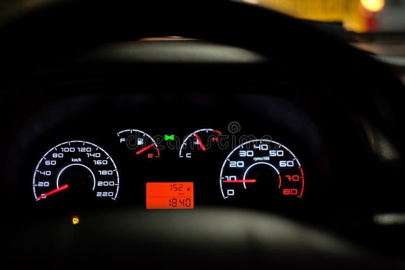 Bil motorfordon, hastighetsmätare, medel