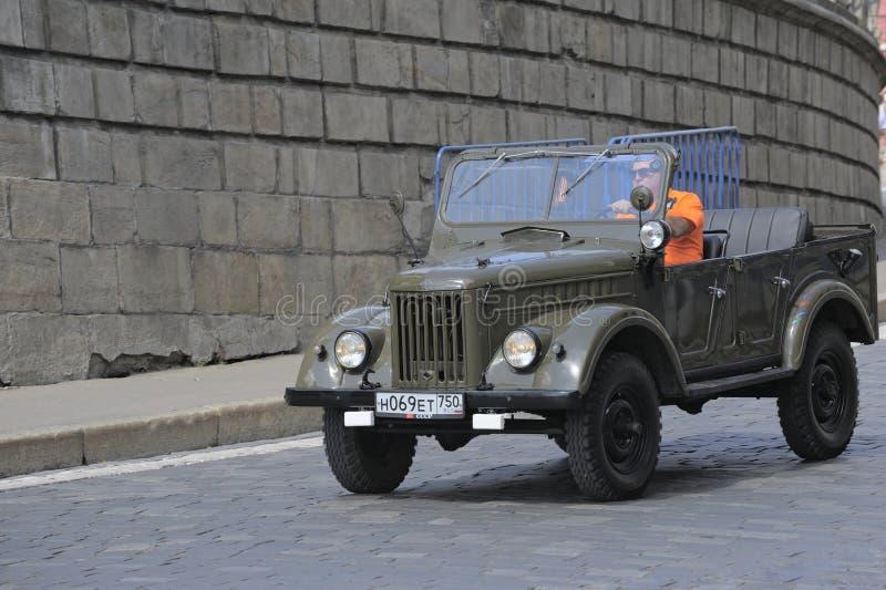 Bil UAZ-69A arkivfoton