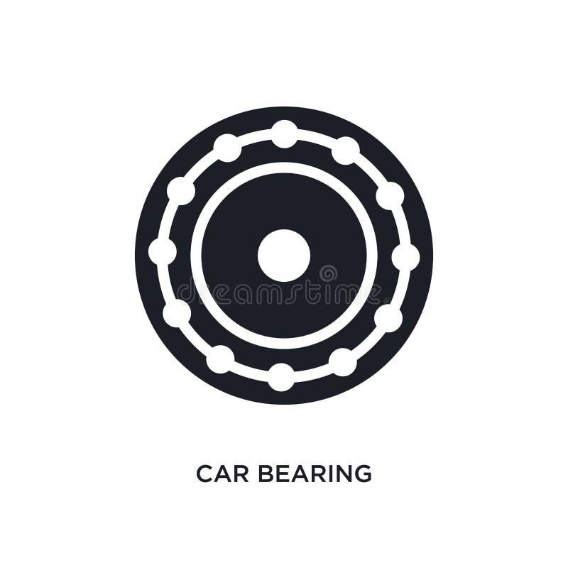 bil uthärda den isolerade symbolen enkel beståndsdelillustration från symboler för bildelbegrepp bil uthärda redigerbar design fö royaltyfri illustrationer