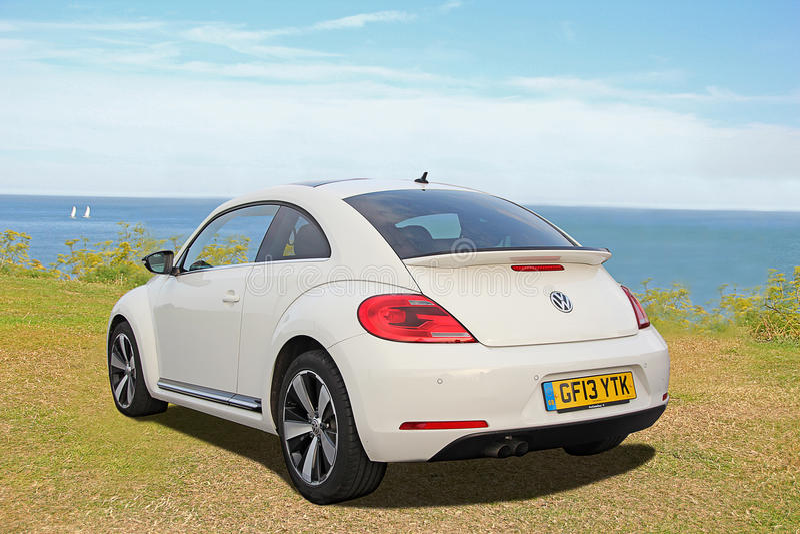 Bil Volkswagen för modern design royaltyfri bild