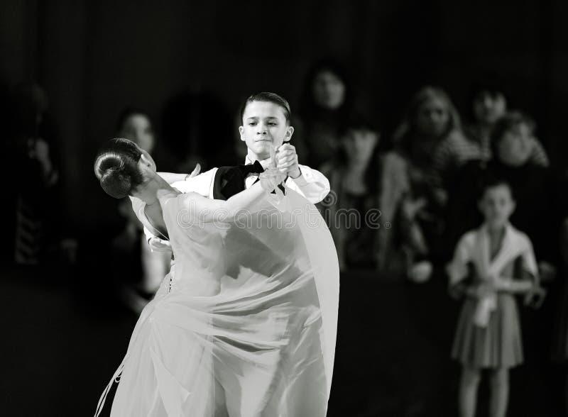 Bila Tserkva, Ucraina 22 febbraio 2013 danc aperto dell'internazionale immagine stock libera da diritti