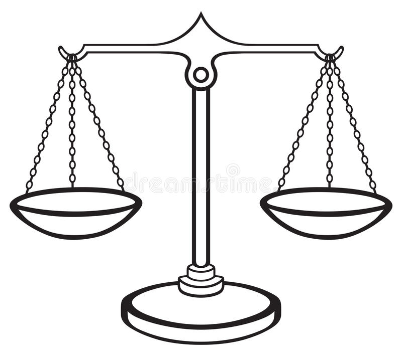 bilancia della giustizia illustrazione vettoriale scales of justice symbol vector free download scales of justice symbol vector free download