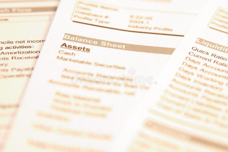 Bilancio immagine stock libera da diritti