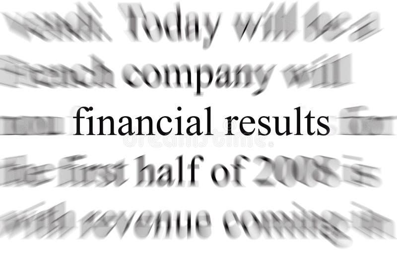 Bilans financiers illustration de vecteur