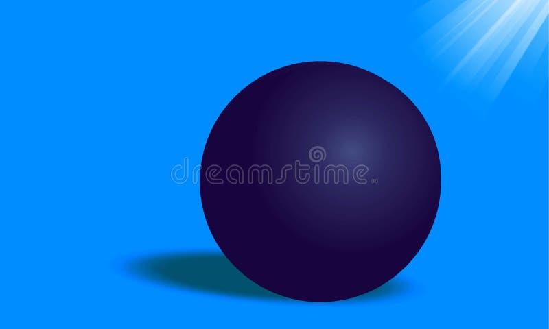 BILARDOWYCH piłek 3D wektor fotografia stock