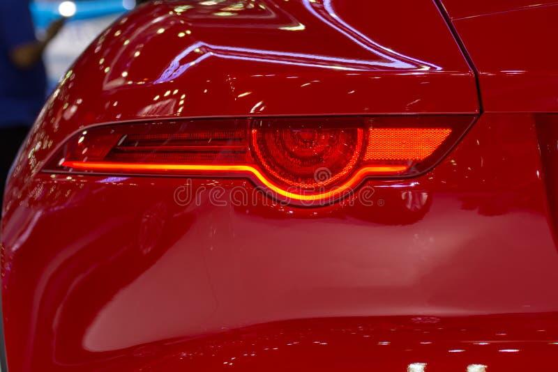 Bilbaklykta eller taillamp royaltyfri bild