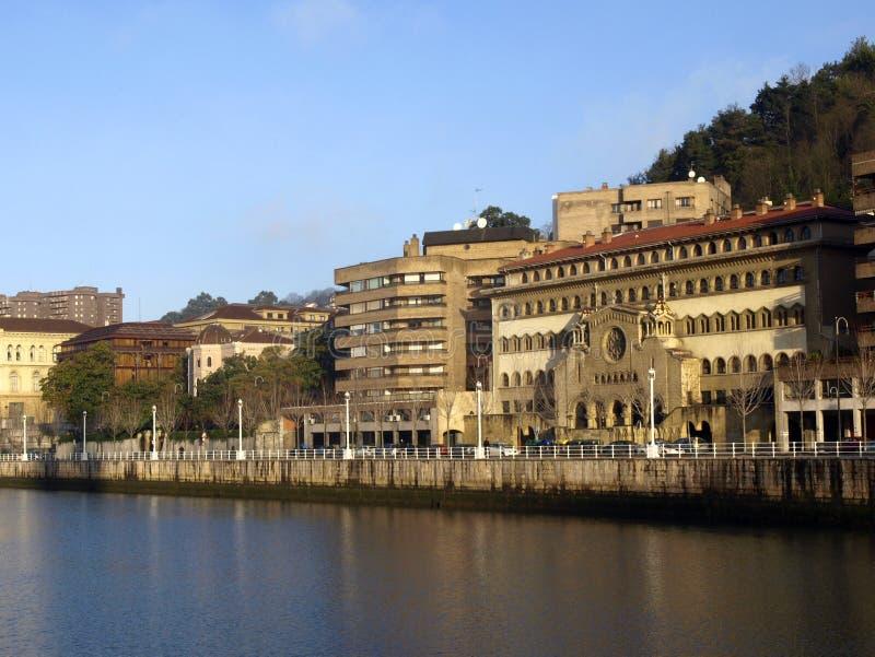 Bilbao royalty-vrije stock afbeelding