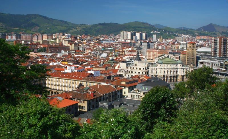 Bilbao fotografia stock
