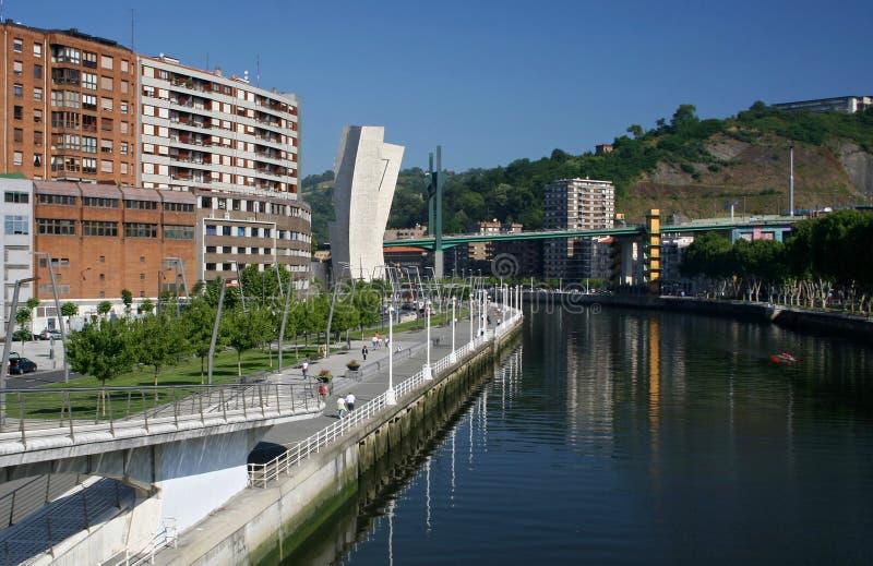 Bilbao stockfotografie