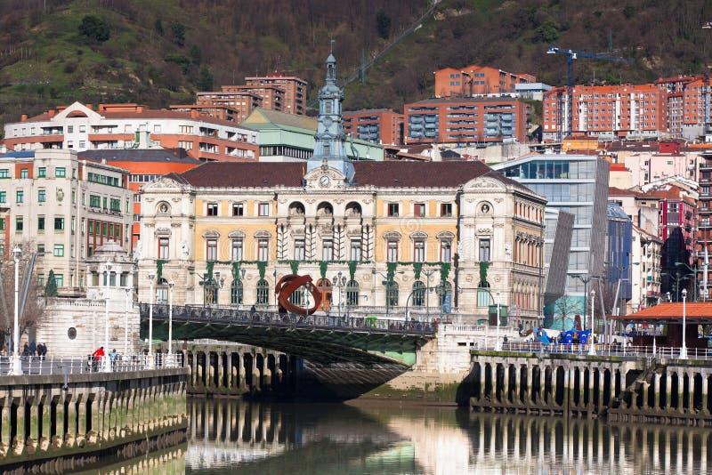 Bilbao, Baskisch Land, Spanje royalty-vrije stock afbeeldingen