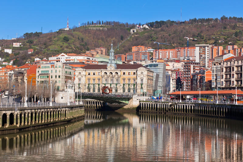 Bilbao, Basque Country, Spain stock images