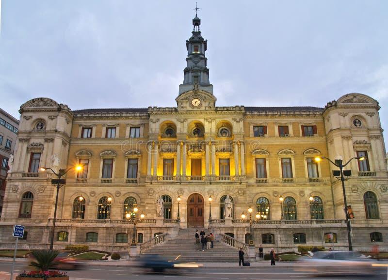 Bilbao City Town-hall royalty free stock photo