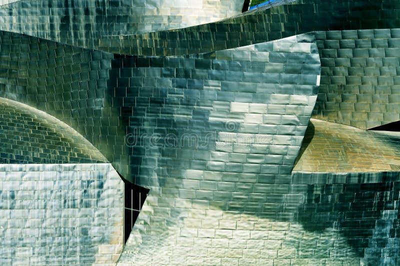 Musée de Guggenheim à Bilbao, Espagne photo libre de droits