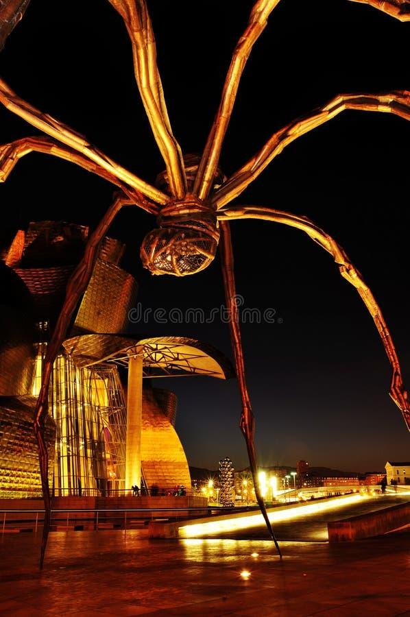 Musée de Guggenheim à Bilbao, Espagne image libre de droits