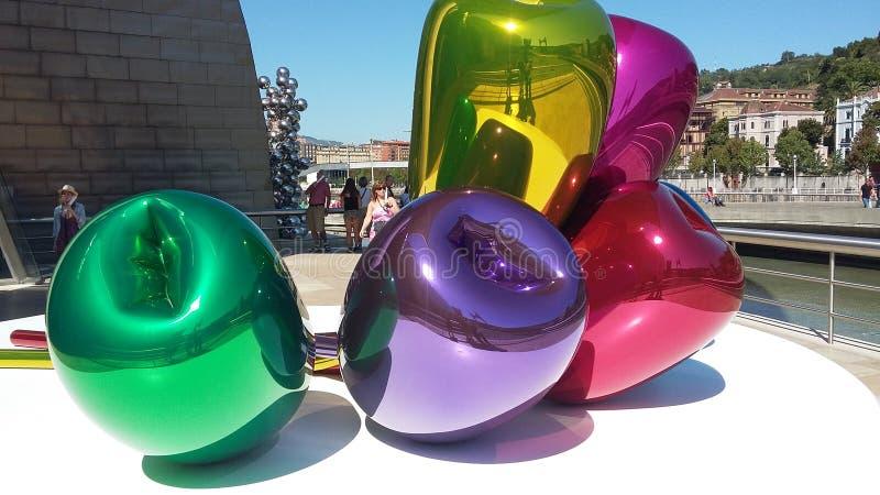 Bilbao Guggenheim Museum stock photo