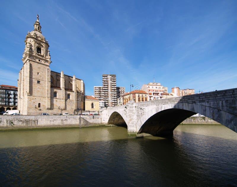 Bilbao-Stadtbilder lizenzfreies stockfoto