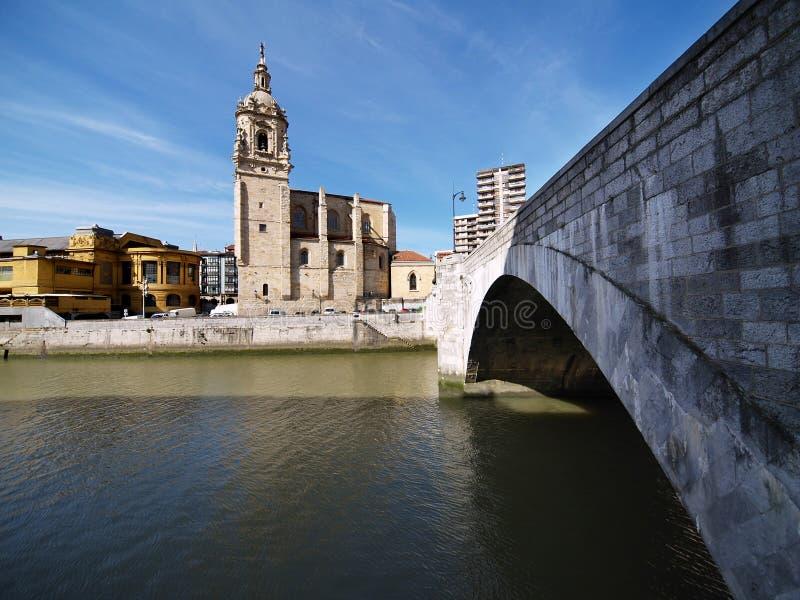 Bilbao-Stadtbilder stockfoto